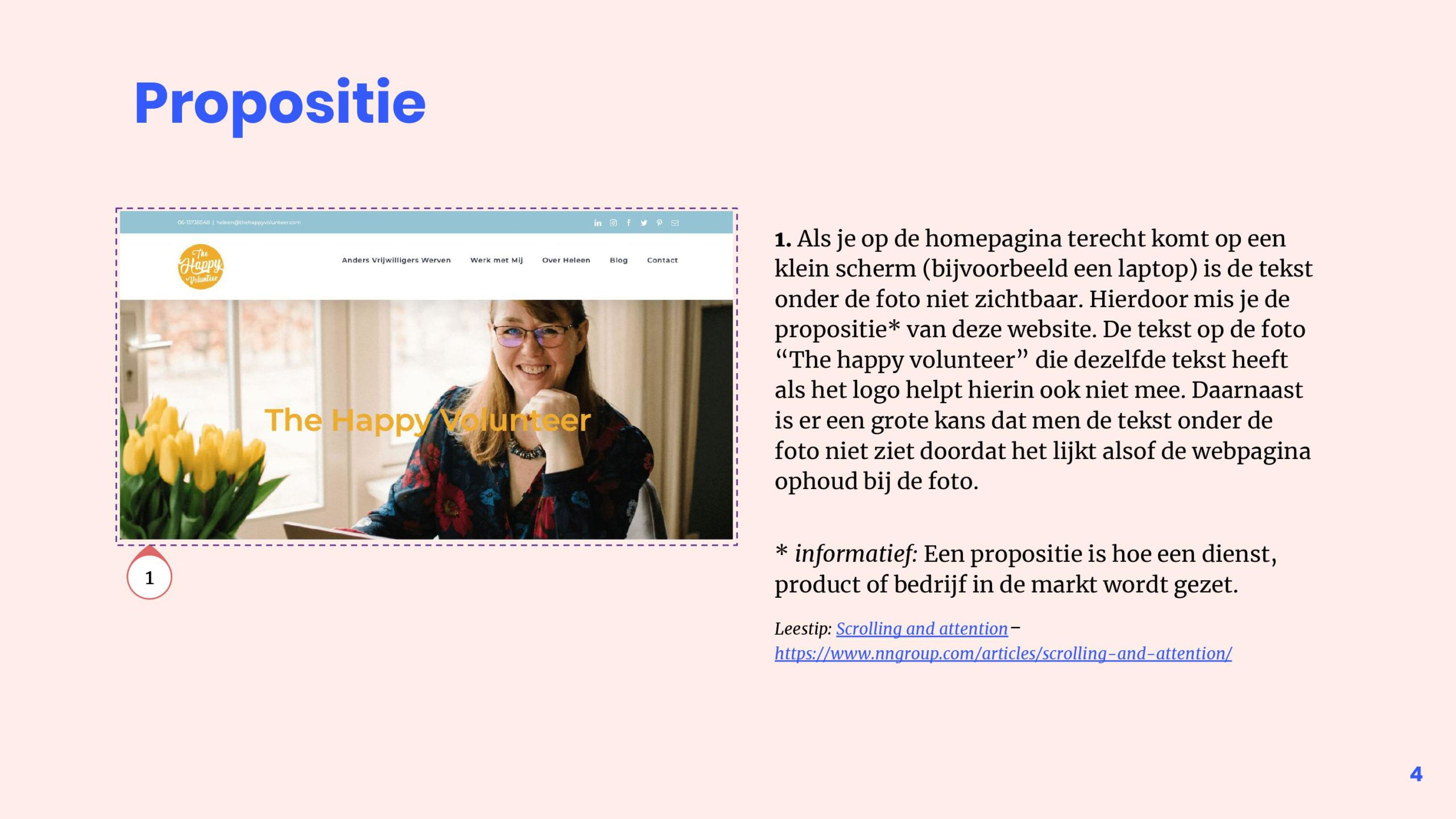 Quickscan 1 - Homepage