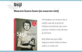Boek Stijl - Kitty Kilian