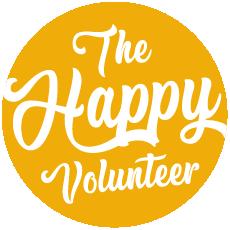 The Happy Volunteer Logo